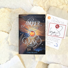 Amber & Dusk with signed bookplate