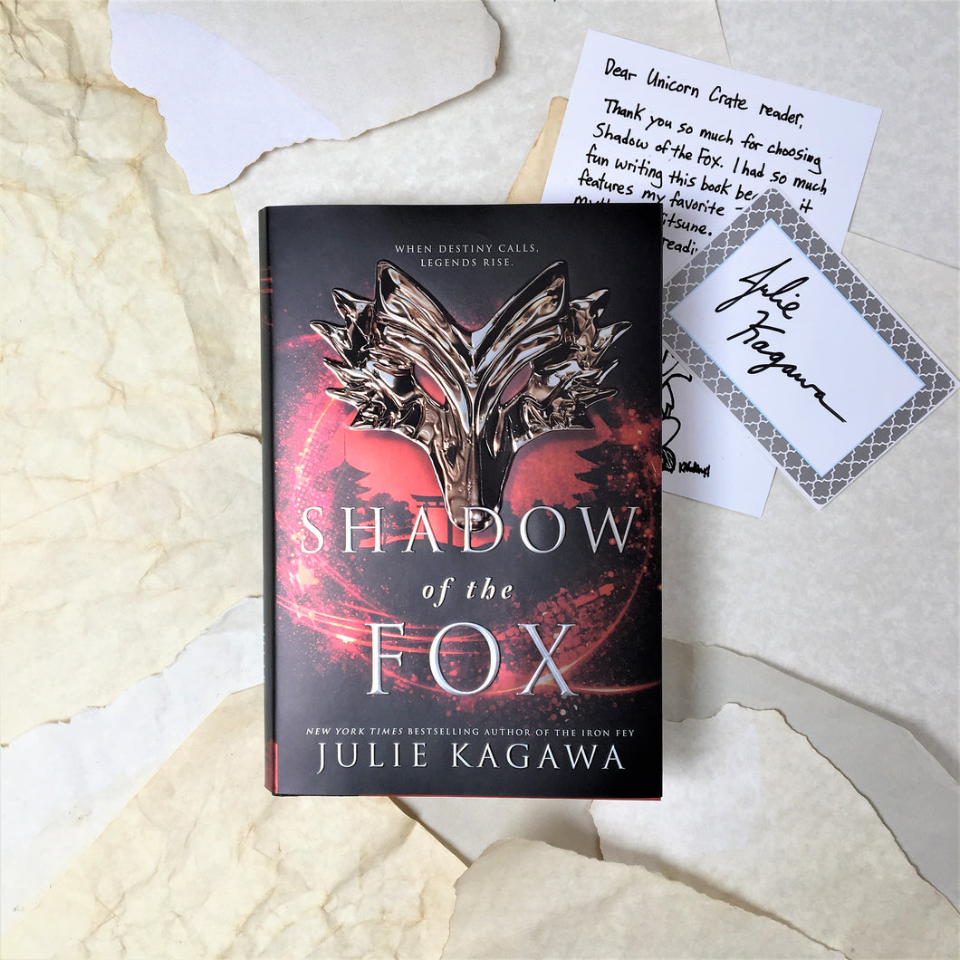 Shadow of the Fox with signed bookplate