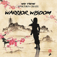 MAY 2017: Warrior Wisdom