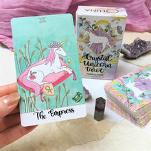 Crystal Unicorn Tarot Deck