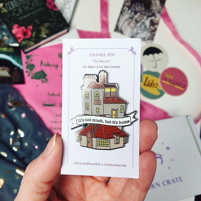 The Burrow Enamel Pin