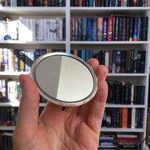 Belle pocket mirror - Reading is Beautiful