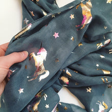 Unicorns & Stars Scarf