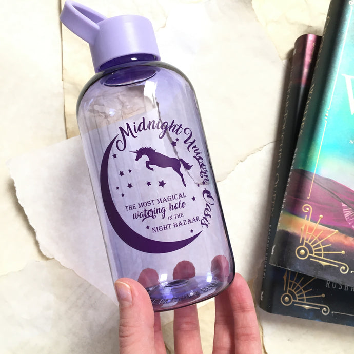 Midnight Unicorn Oasis Water Bottle