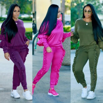 ENVYTHING JOGGER SUIT