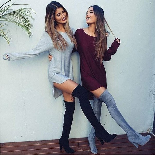 LOOSE LONG SLEEVE DRESS