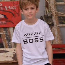 BOSS/Mini Boss Family Matching Tee