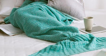 Mermaid Tail Blanket for Adult/Kids/Baby