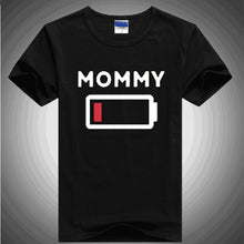 Family Matching Tees - Battery Empty/Full
