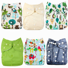 Cloth Diapers (Pack of 6)