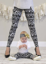 Mommy & Me Family Tribal Leggings