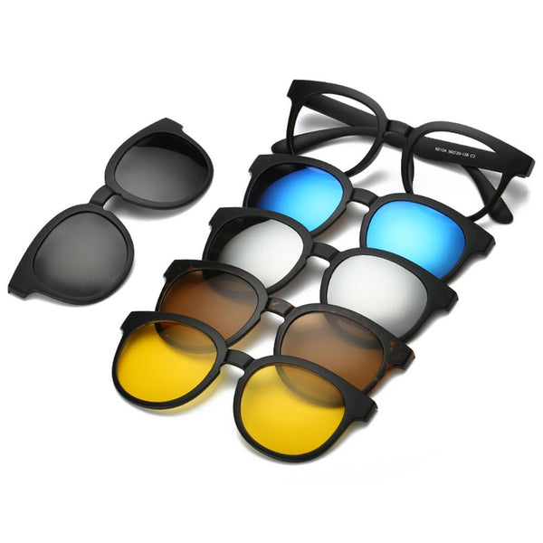 Magnetic Clip-On Sunglasses