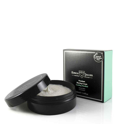 EDWIN JAGGER SHAVING CREAM COOLING MENTHOL