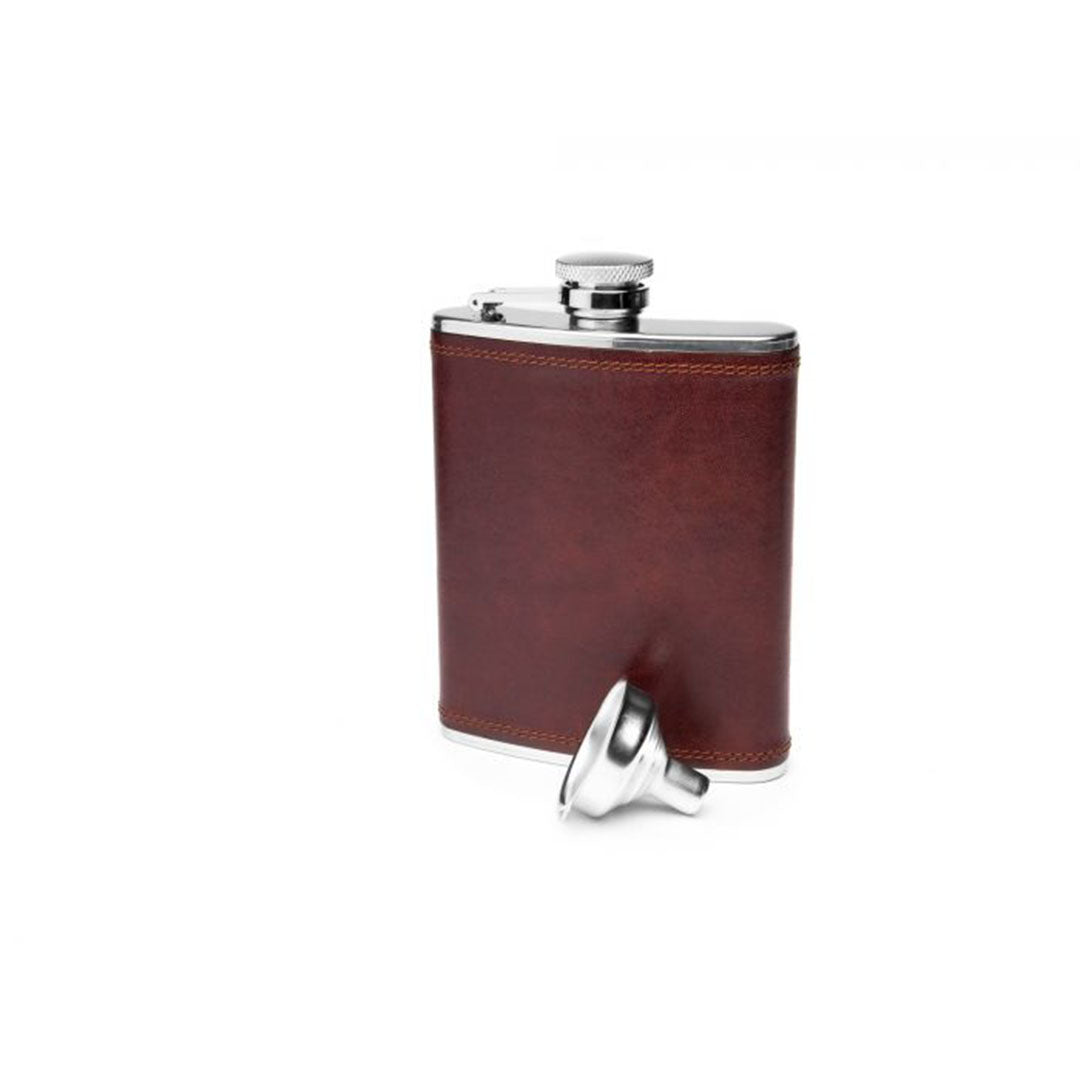 Bosca_Flask_Dolce_Dark_Brown