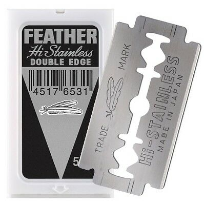 Feather Blade Black 5pk