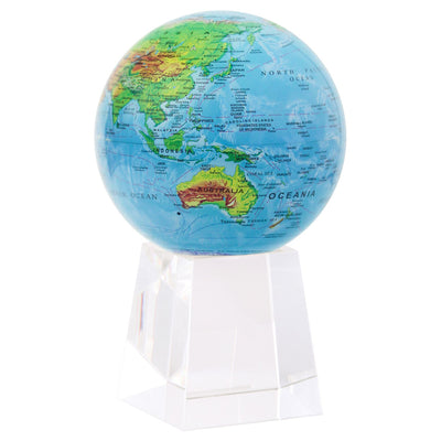 MOVA-GLOBE-BLUE-WITH-RELIEF-4,5''-TALL-BASE