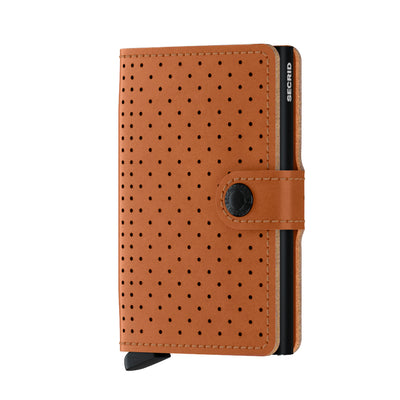 Secrid_Miniwallet_Perforated_Cognac_Front