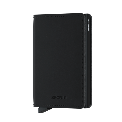 SECRID_SLIMWALLET_SOFT_TOUCH_VEGAN_BLACK_FRONT
