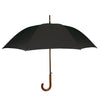 Vancouver_Umbrella_Wood_Shaft_Black
