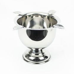 ASHTRAY STINKY TALL STAINLESS STEEL
