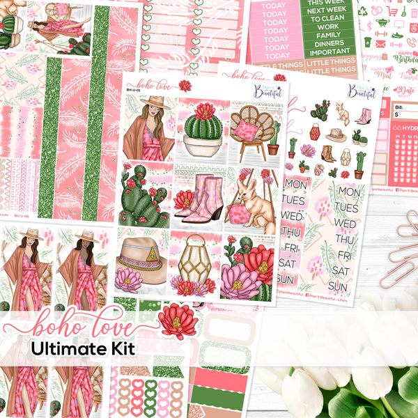 Boho Love - Ultimate Vertical Kit