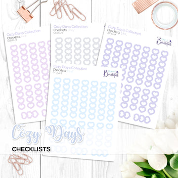 Cozy Days Collection: Checklists