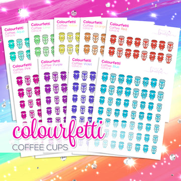 Colourfetti Collection: Coffee Cups