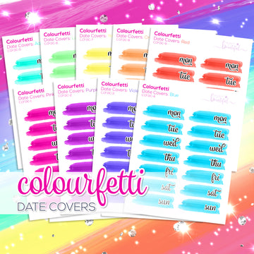 Colourfetti Collection: Date Covers