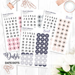 Dusk Collection: Date Dots