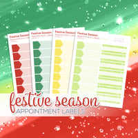 Festive Season Collection: Appointment Labels