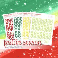 Festive Season Collection: Checklists