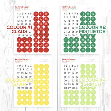 Festive Season Collection: Date Dots