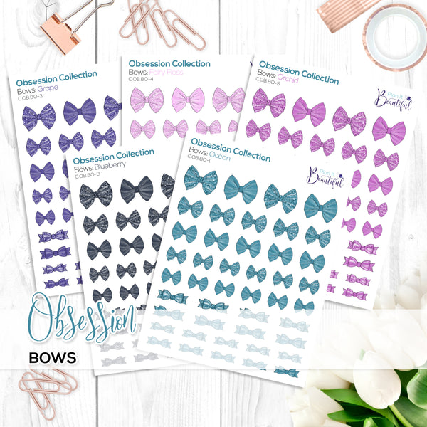 Obsession Collection: Bows