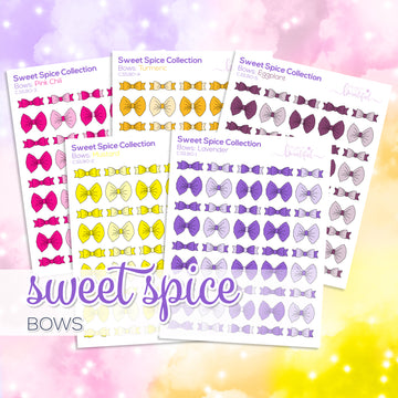 Sweet Spice Collection: Bows