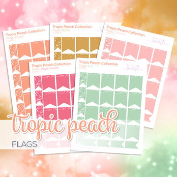 Tropic Peach Collection: Flags