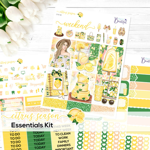 Citrus Season - Essentials Kit