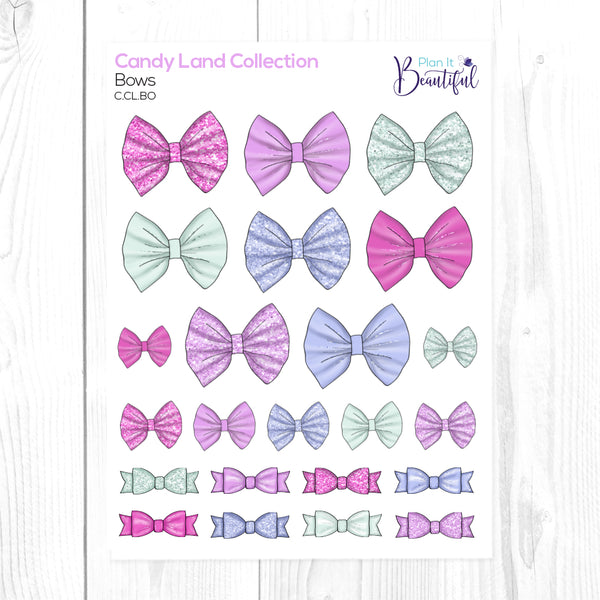 Candy Land Collection: Bows