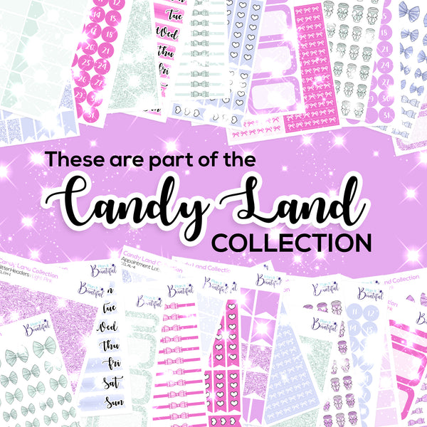 Candy Land Collection: Appointment Labels
