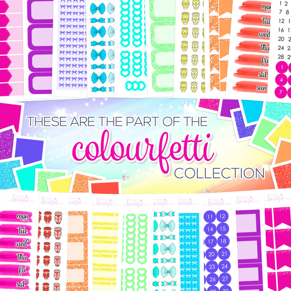 Colourfetti Collection: Checklists