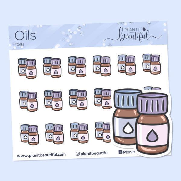 Eye Candies: Oils