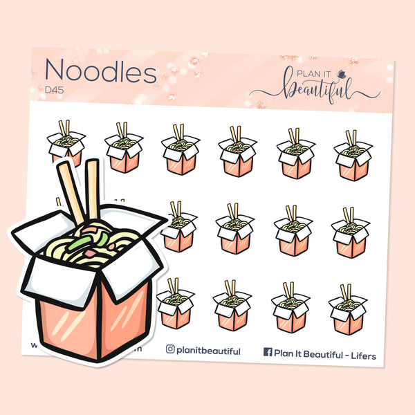 Eye Candies: Noodles