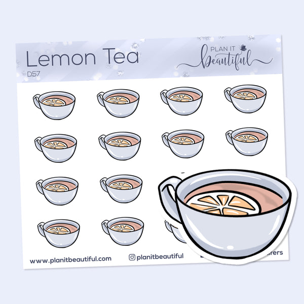 Eye Candies: Lemon Tea