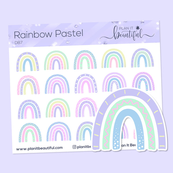 Eye Candies: Rainbow Pastel