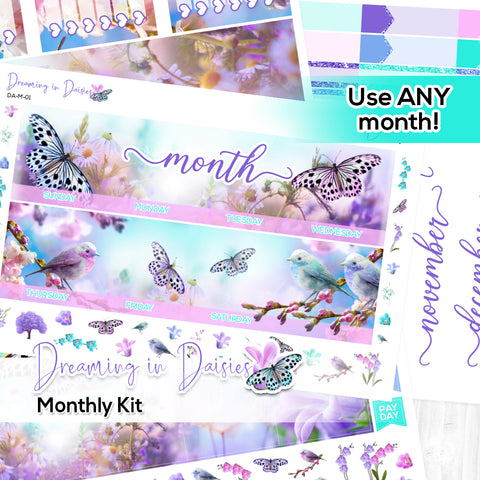 Dreaming in Daisies Monthly Kit (New Format!)