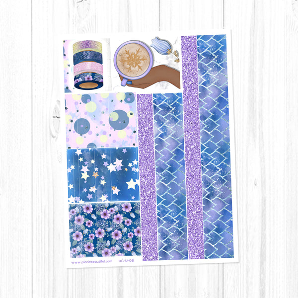 Dragon Dreams: Washi Strips & Bottom Washi
