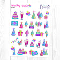 Birthday Wishes: Deco Sampler
