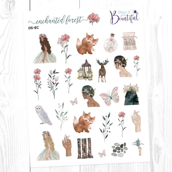 Enchanted Forest: Deco Sampler