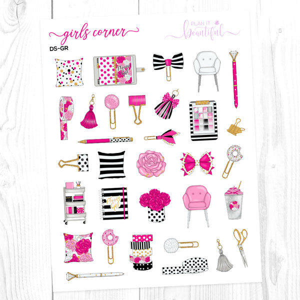Girls Corner: Deco Sampler