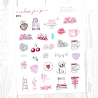 I Love You So: Deco Sampler