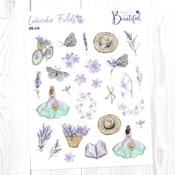 Lavender Fields: Deco Sampler